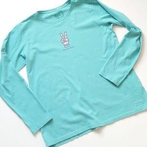 Life is Good Long sleeve T Shirt